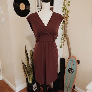 max and cleo dark purple dress   size s